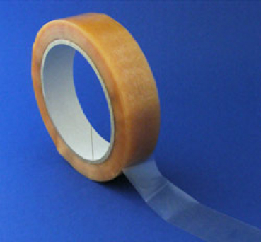 Monta-Packband aus PVC, transparent, 25 mm x 66 lfm